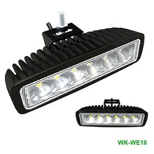 Cheap price 18w front car led work light with high lumens 24 volt daytime running light