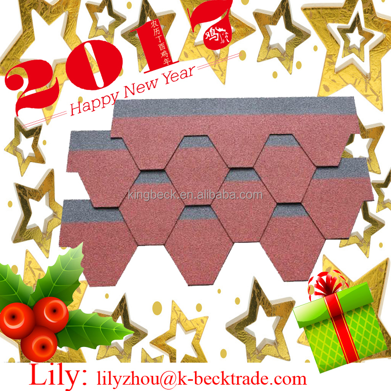 Hot Sale Red Color Asphalt Roof Shingle Coating For Waterproof Roofing fiberglass roofing