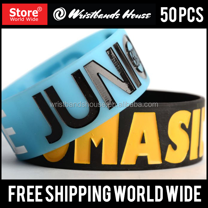 Newest custom silicone hand band | All colors Promotional Rubber custom hand band | Eco-friendly custom silicone hand band