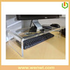 Customized Clear Acrylic Keyboard Stand