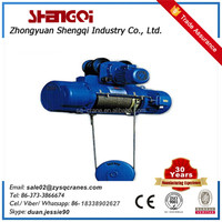 Wire rope mini type electric hoist machine 10ton