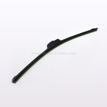 Double colored windshield window stainless steel wiper blade
