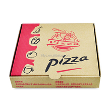 Food grade cardboard custom paper pizza delivery box
