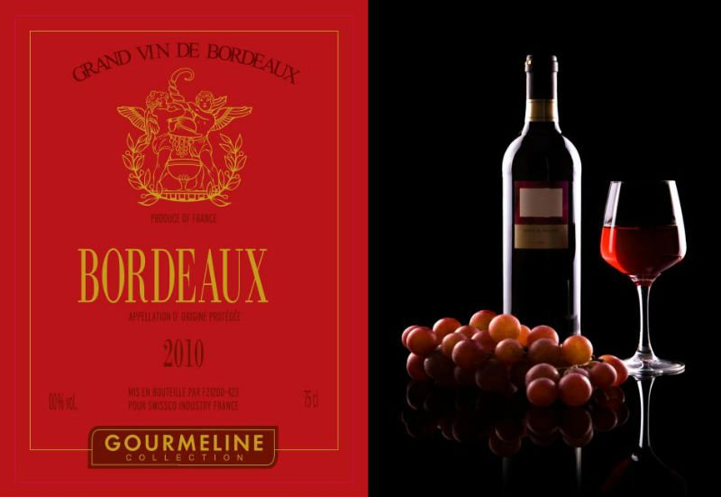 WINE RED FRANCE FROM BORDEAUX