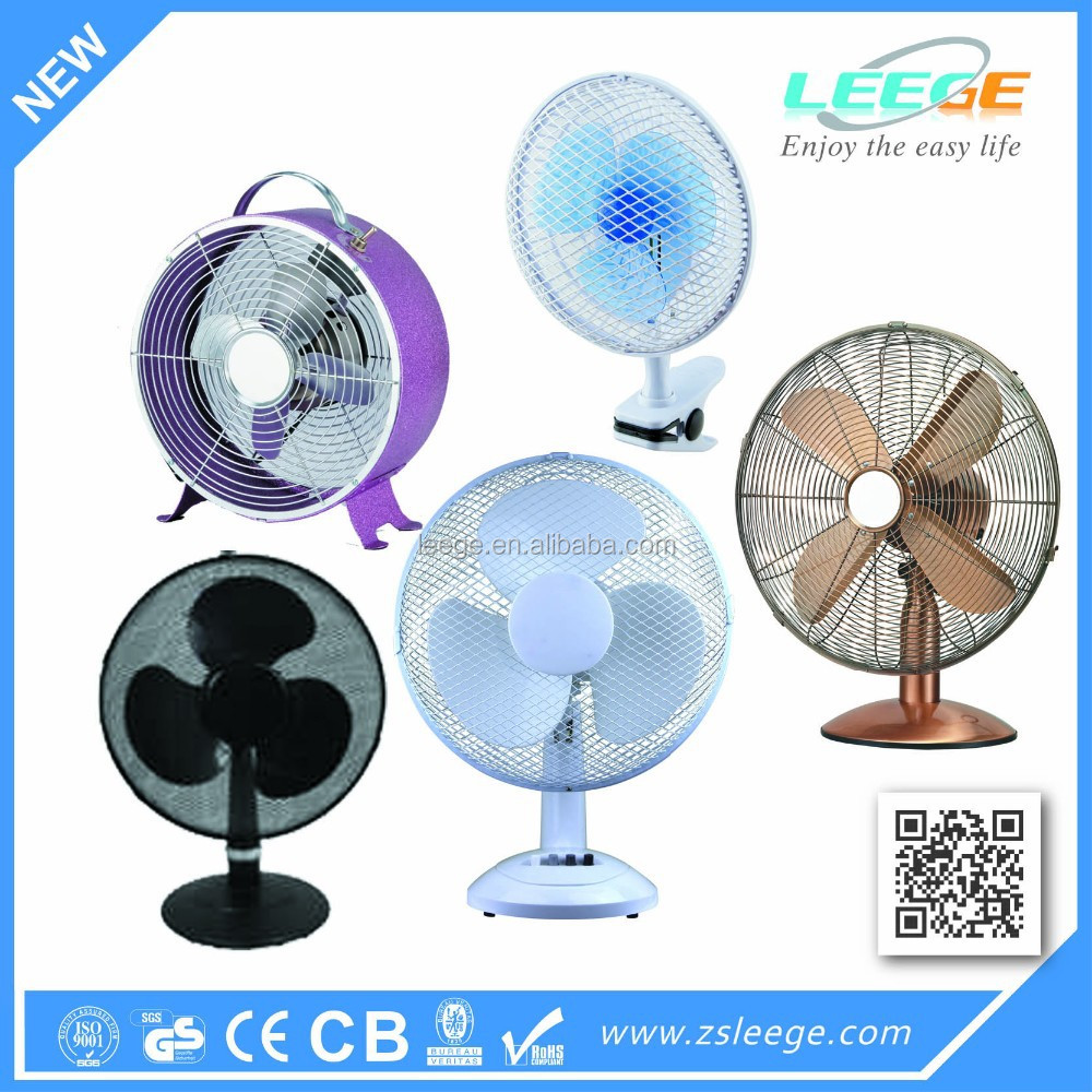 220V Euro hot new design cheap price low power consumption desk fan table fan