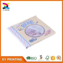 Hardcover sound book for children with CD printing service