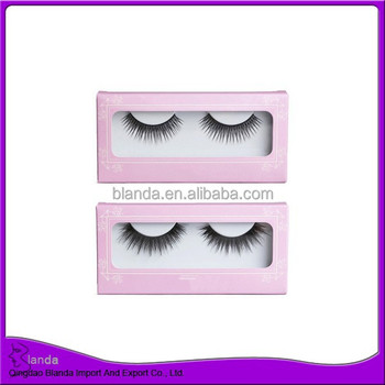 Hot sale natural eyelash strip eyelash real human hair eyelash