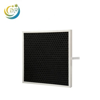Durable cheap price air conditioner honey comb activated carbon filter price