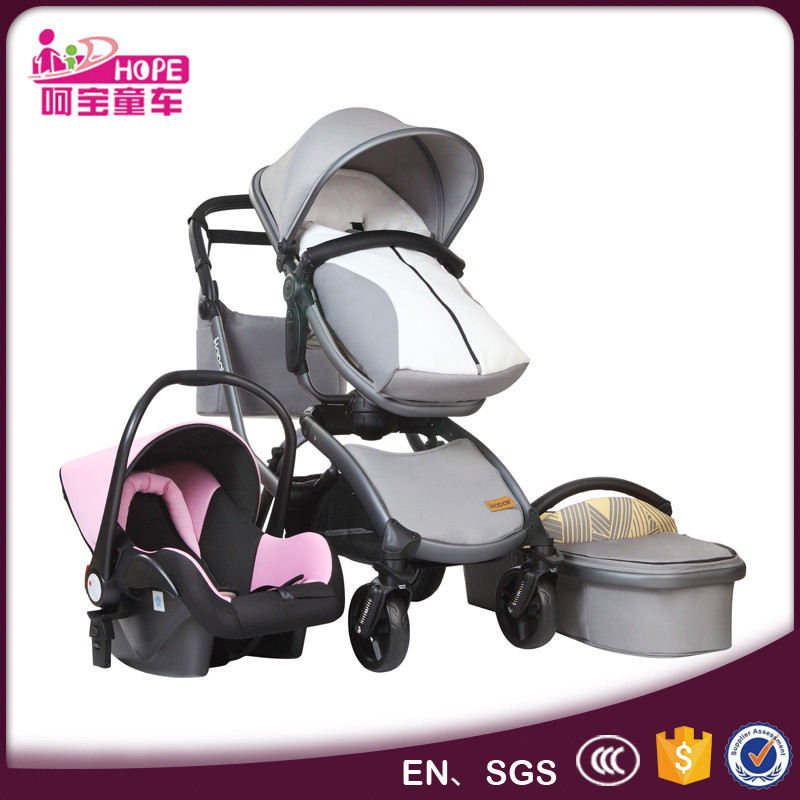 Hope Child High-end Baby Stroller Design With Patent And Aluminum Alloy Frame