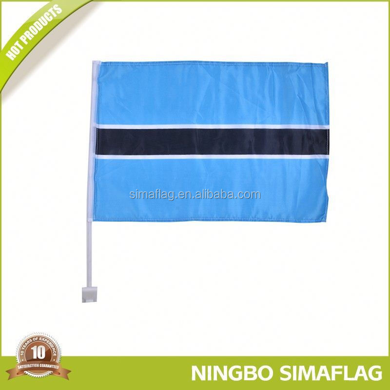 Germany car window flag with plastic pole