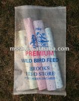feed stuff polypropylene woven recycle woven plastic beach bag