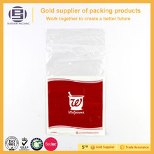 Printing plastic packaging zipper bags for gift