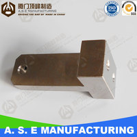 Low Volume CNC Machined Machanical Engineering Parts anodized aluminum tube