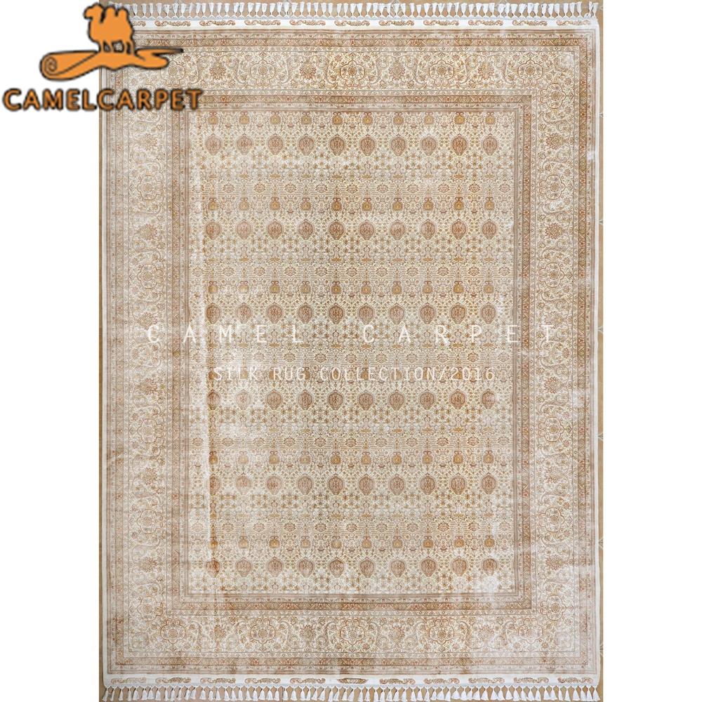9x12 rug natural silk best hand knotted persian carpet art palace