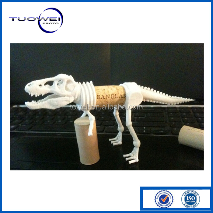High Quality Custom SLS SLA toy dragon rapid prototype making service