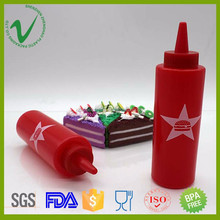 LDPE food grade hot sale cream plastic squeeze bottle for cake decorating tools