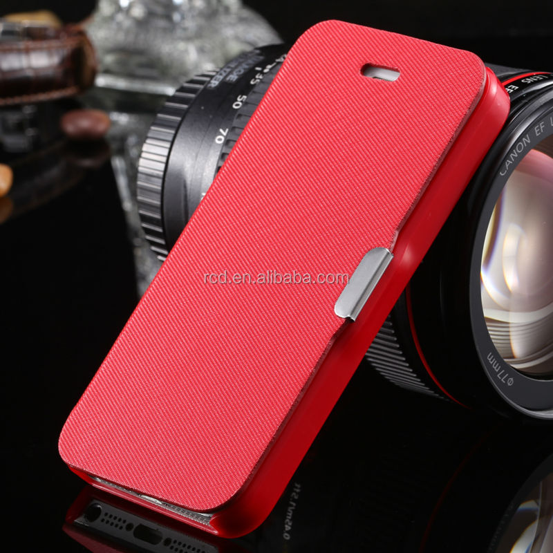 Fabric Leather Case For IPhone 5s 5 SE, For IPhone 5s SE Leather Slim Case, For IPhone 5S 5 SE Leather Case