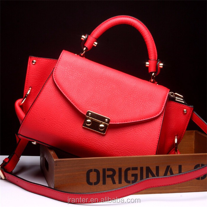 2016 luxury lady office handbag women genuine leather handbag wholesale