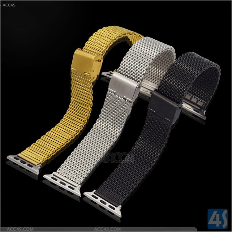 Luxury & elegance For Apple Watch Metal Band, high quality strap for apple watch with metal connector