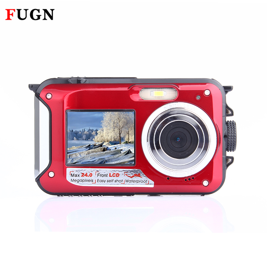 FHD 1080P Waterproof camera ,real 20M underwater sports digital camera video camera