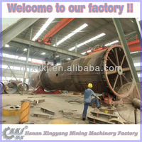 Sludge calcining rotary kiln with ISO quality