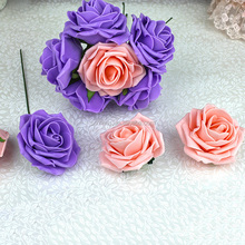 Cheap Artificial Floral Decoration Making Foam Rose Flower