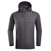 Outdoor clothing sports winter men warm windbreaker softshell jacket