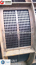 Mining industry Machinery low consumption deft designed Rotary drum vibrating mining screen mesh