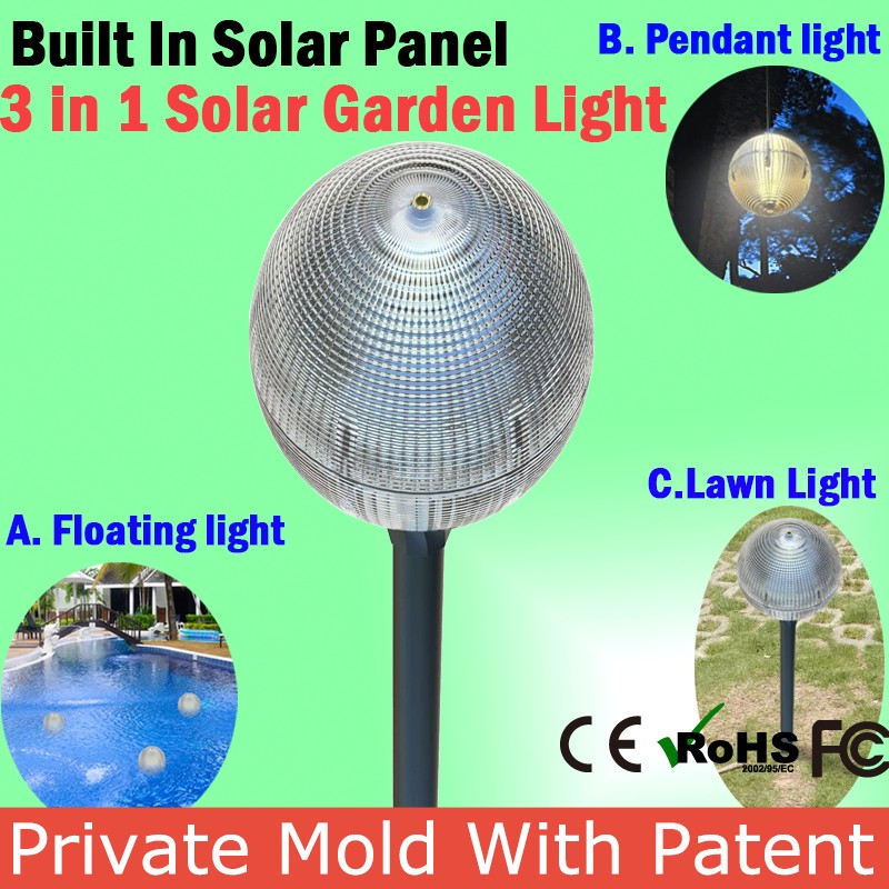 Wholesale Waterproof New Outdoor Solar Garden Light Holder