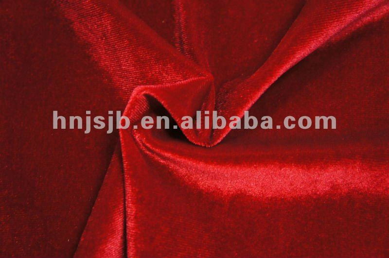 poly/span velour fabric dubai/ arabic fabric material for dress