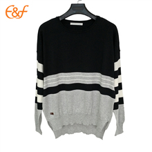 Ladies Western Style Knitted Split Hem Sweater Female Beautiful Sweaters