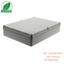 custom plastic/aluminum extrusion waterproof enclosure for electronic device