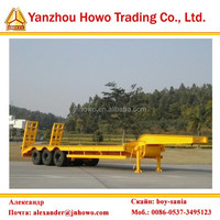 Flatbed Semi Trailer For Container Bags