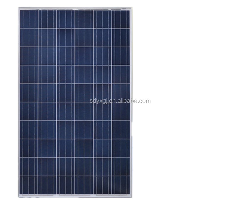 Poly-crystalline silicon solar battery 245-260 W