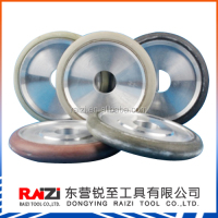 RAIZI 4 inch abrasive resin bond diamond cutting fluting grinding wheels for stone