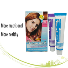 OEM&ODM professional shiny and full of fruit oil best natual Ppd&ammonia free hair color hair dye cream hair color