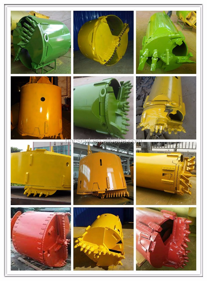 Hot Saled Double Cutting Rock Drilling Bucket