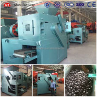 Durable coking coal briquetting machine