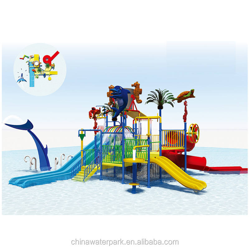Factory directly sale children slider amusement park equipment