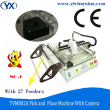 Highest Capacity TVM802A Smd Pick and Place Machine assembly Prodution Line Mounting Technology