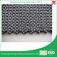 Woven interlining 50D16 warp knitted fabric for garments