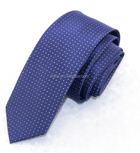 men's necktie oem stripe silk jacquard necktie in china