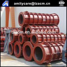 Reinforced concrete cement pipe mould