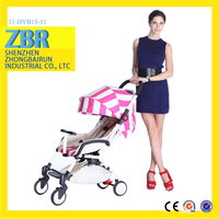 Luxury design full shade canopy cheap stroller baby pram tricycle