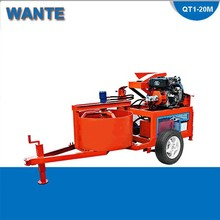 WTseries Dry stacking clay locks brique machine