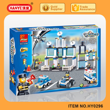 2016 police headquarters series 481PCS building blocks toy for boys