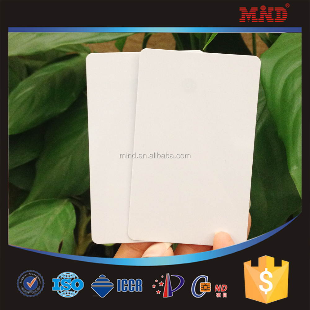 MDI51 High quality Credit Card Size CR80 Plastic blank inkjet pvc id cards