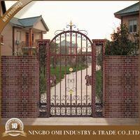 cast iron metal ornaments for doors design / modern iron garden gates design