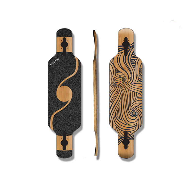 KOSTON high grade dancing and free style hybrid <strong>material</strong> longboard deck