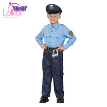 Latest policeman halloween costume police officer wholesale